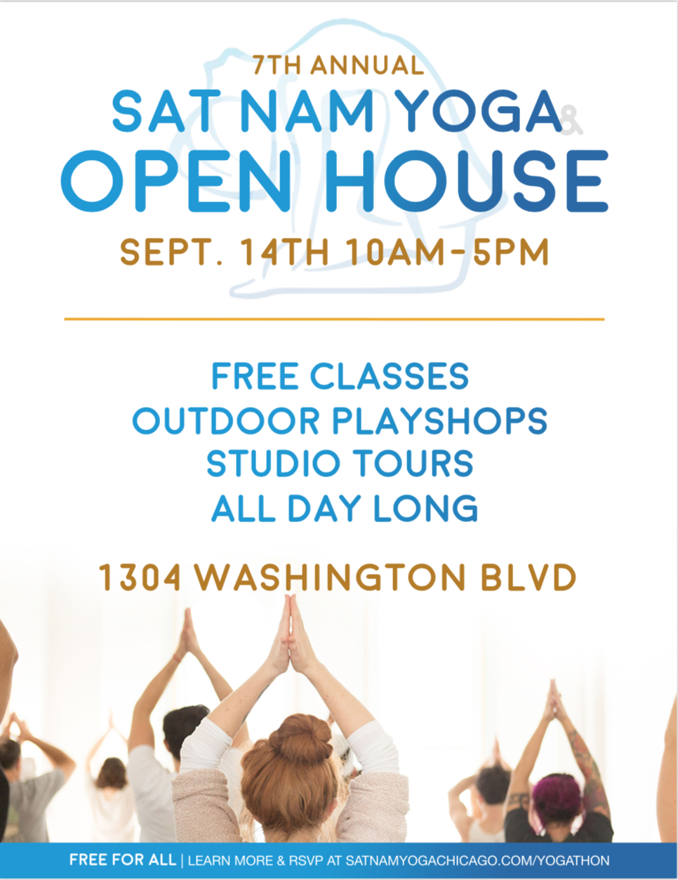 Sat Nam Yoga's 7th Annual Open House