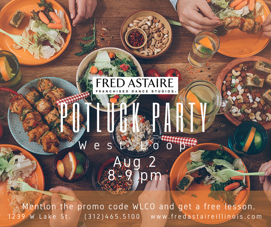 Fred Astaire Dance Studio Potluck Party