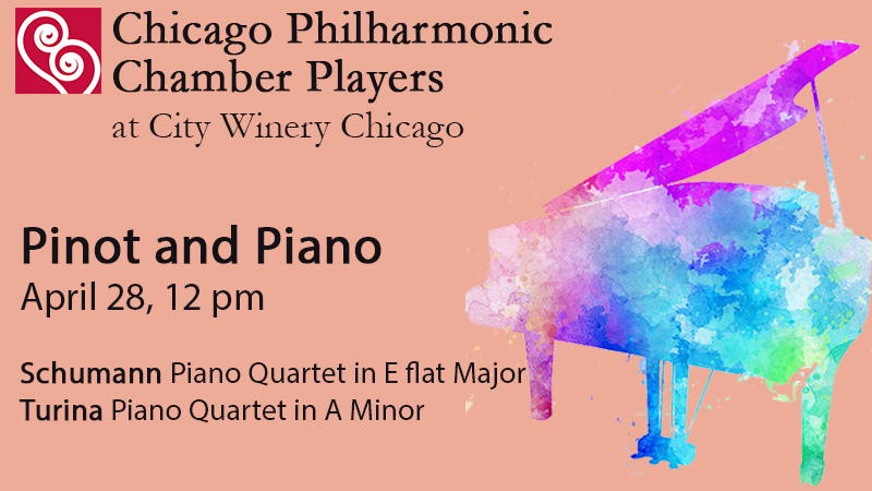 Pinot and Piano with the Chicago Philharmonic Chamber Players