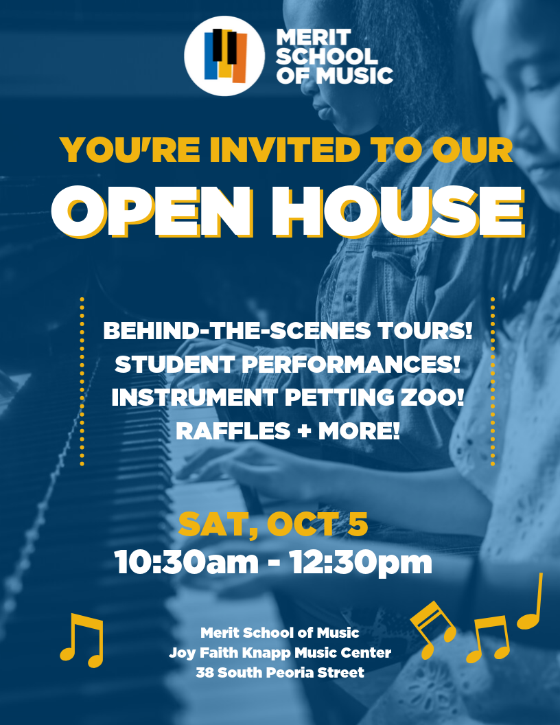 Merit School of Music Open House