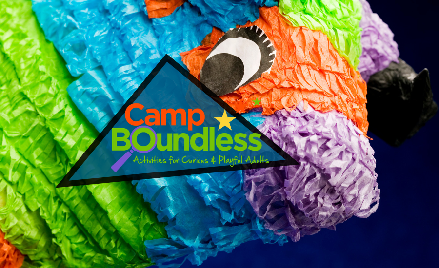 Piñata-Making: A Camp Boundless Pop-Up!
