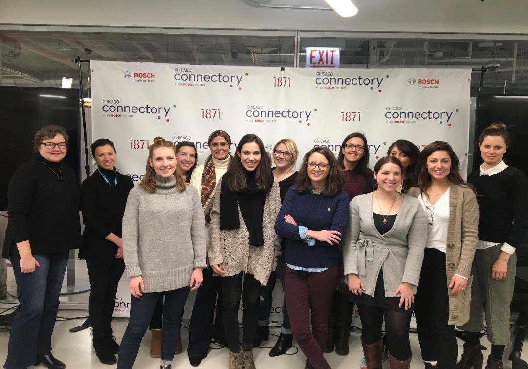 WiSTEM Visit at the Connectory