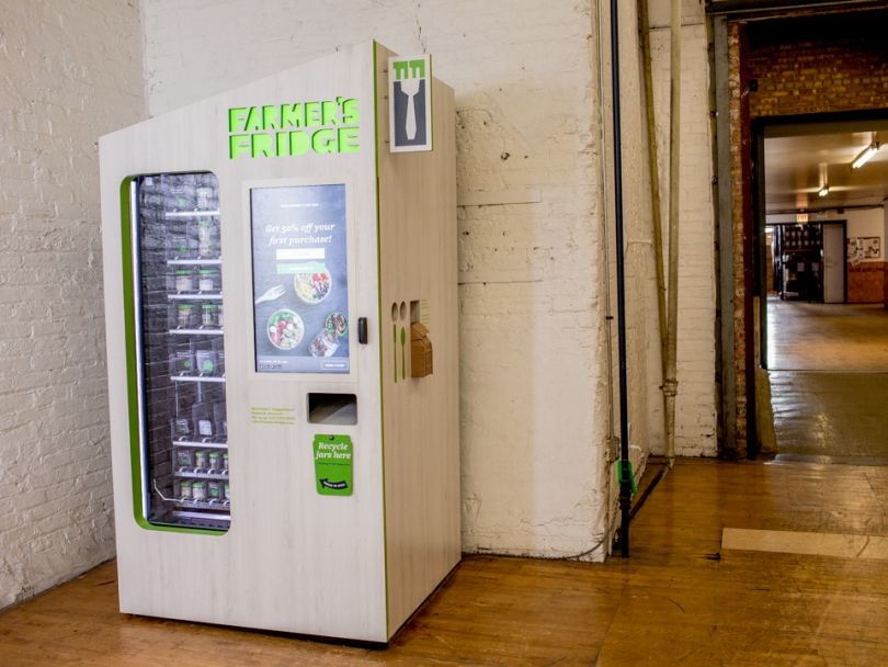 How Farmer's Fridge is Revolutionizing Meals with Tech & Data