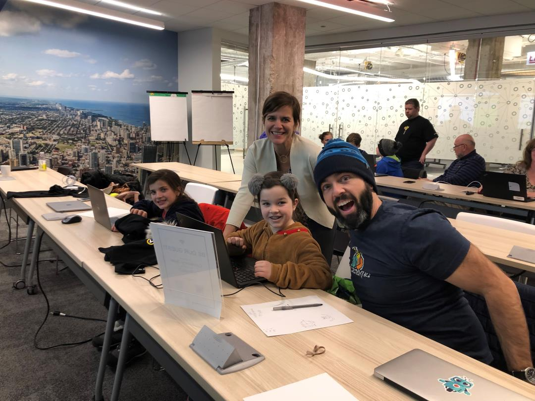 The Chicago Connectory and Bosch Host the Hour of Code
