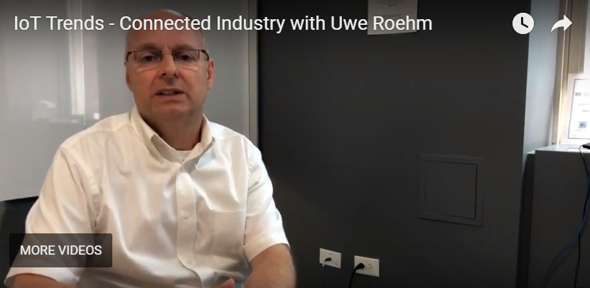 "Industrial IoT Expert, Uwe Roehm, Discusses ""Connected Industry"""