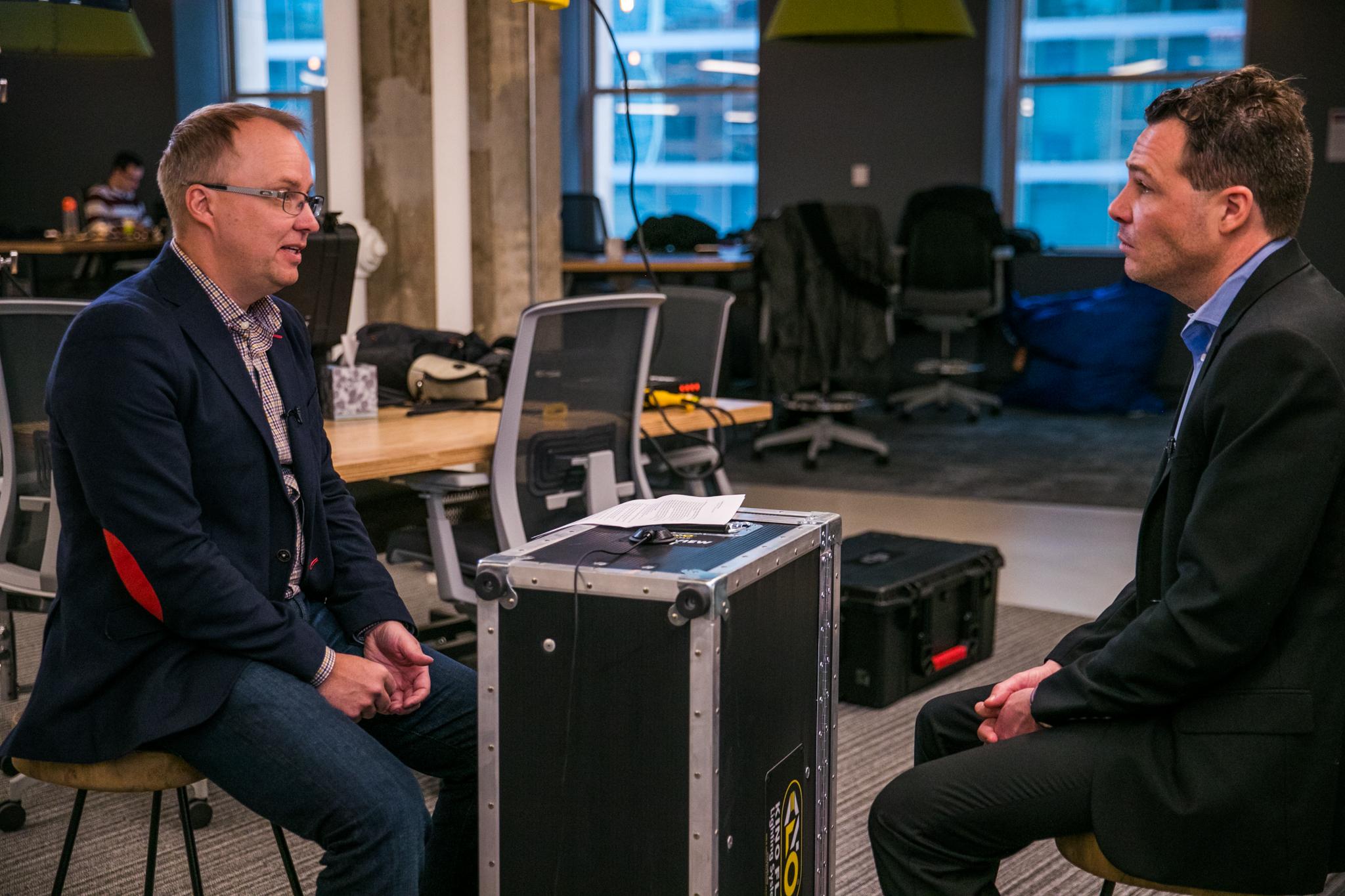AE Marketing Group Interviews Dennis Boecker & Howard Tullman | Chicago Connectory