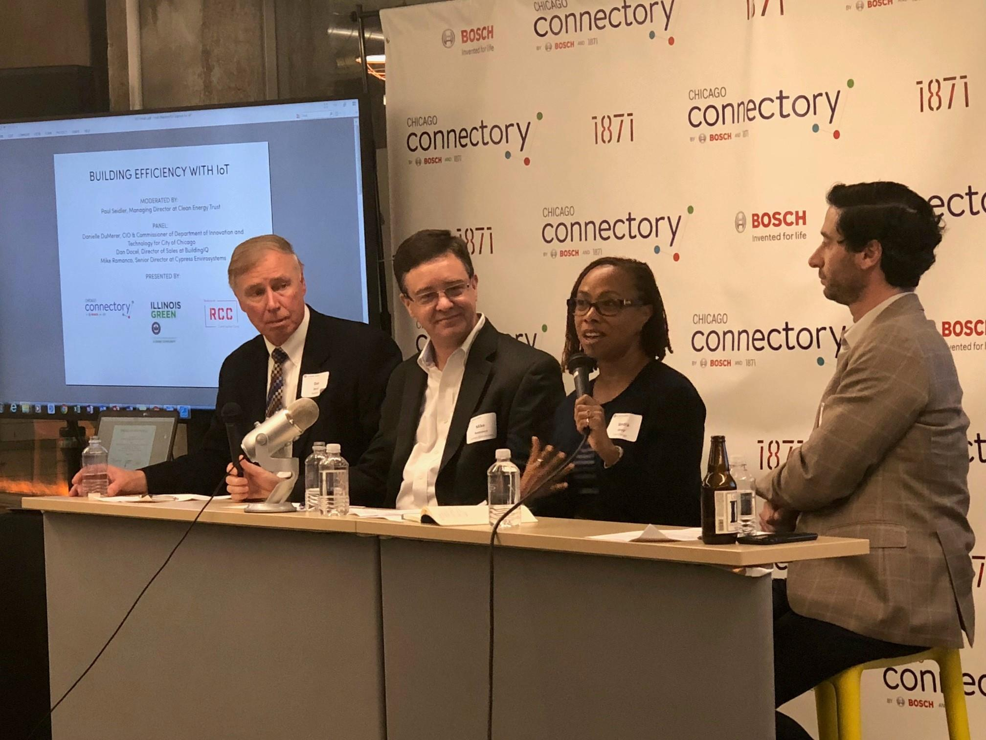 Chicago Connectory Hosts Clean Energy Trust