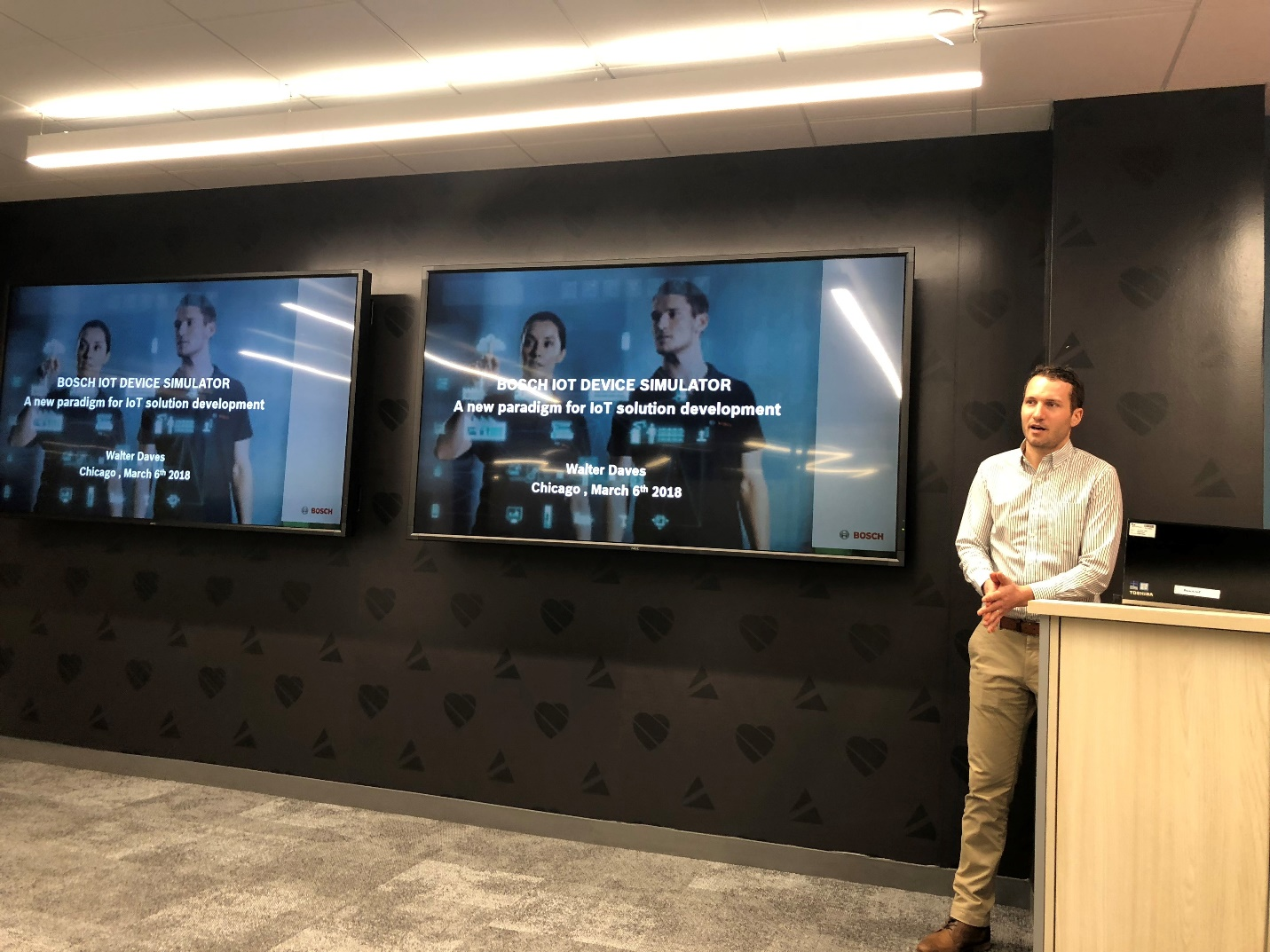 Chicago Connectory hosts Bosch IoT Simulator lunch and learn