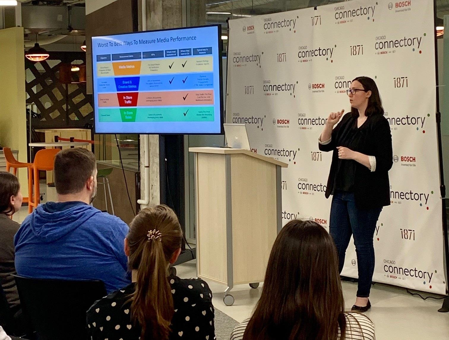 The Chicago Connectory Hosts Data Scientist from McDonald's
