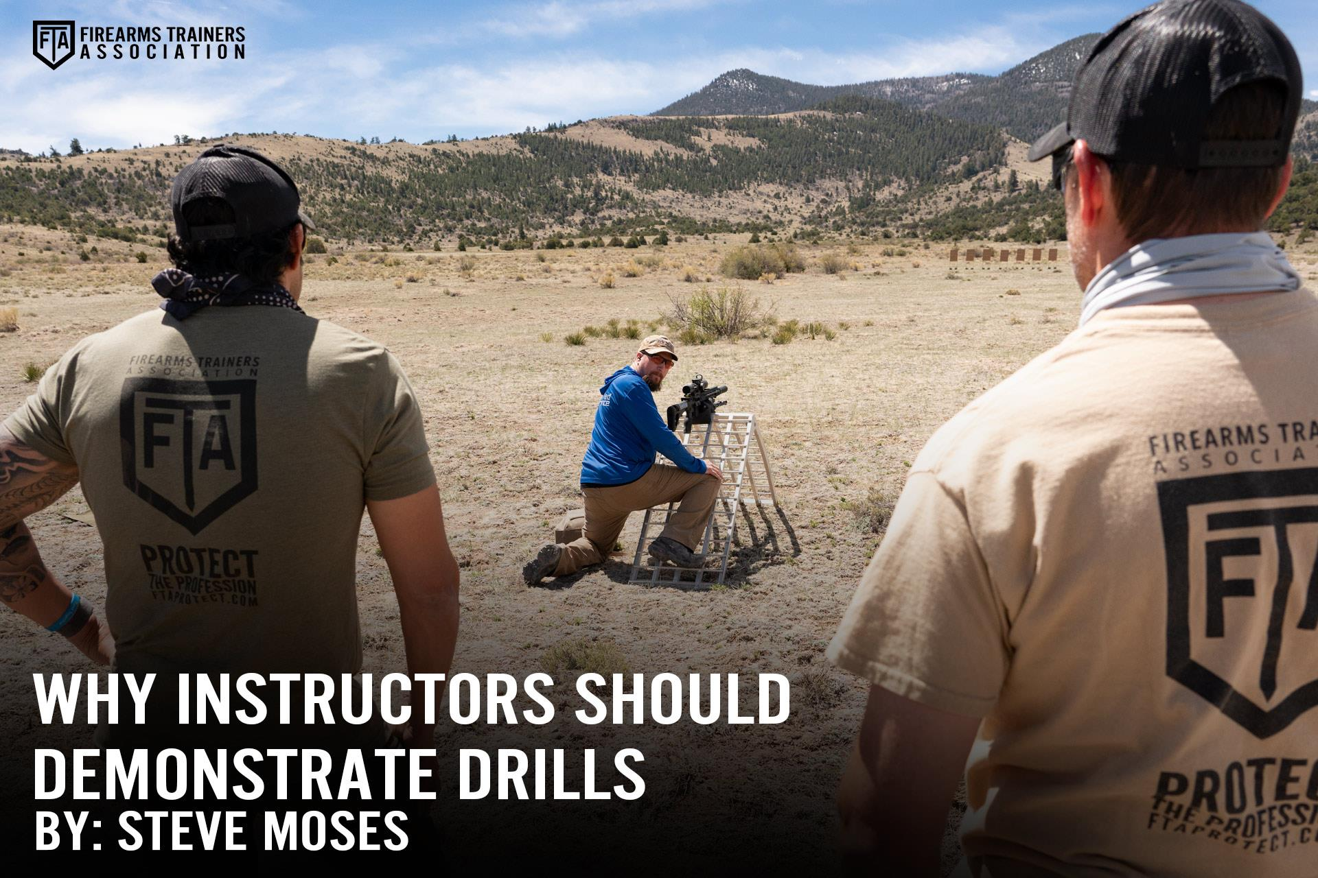 WHY INSTRUCTORS SHOULD DEMONSTRATE DRILLS