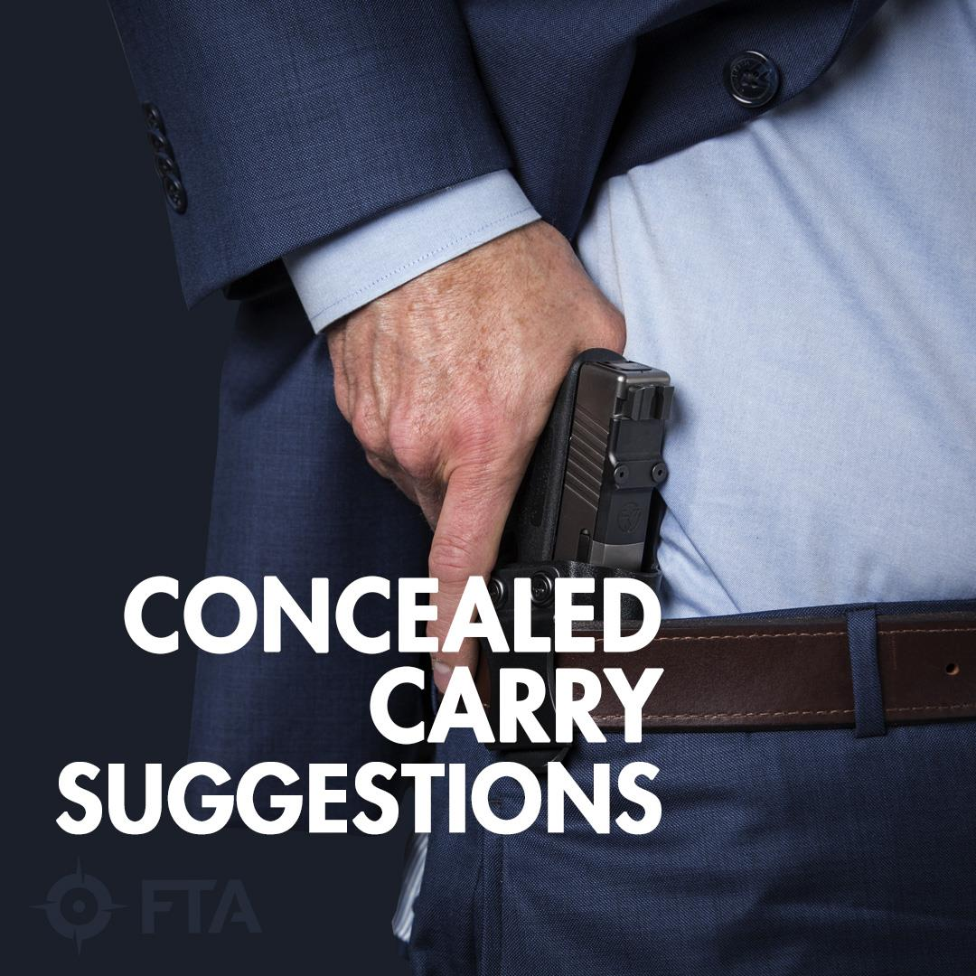 Ideal Firearm For Concealed Carry With Jeff Gonzales