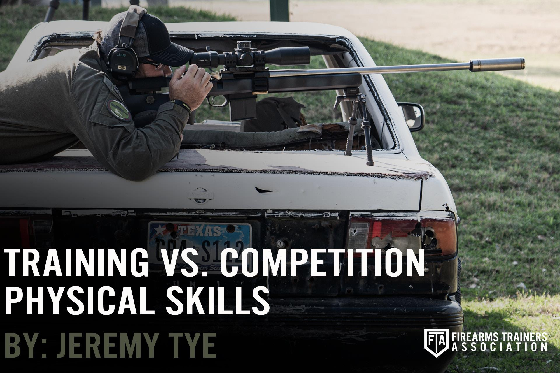 Training Vs. Competition: Physical Skills