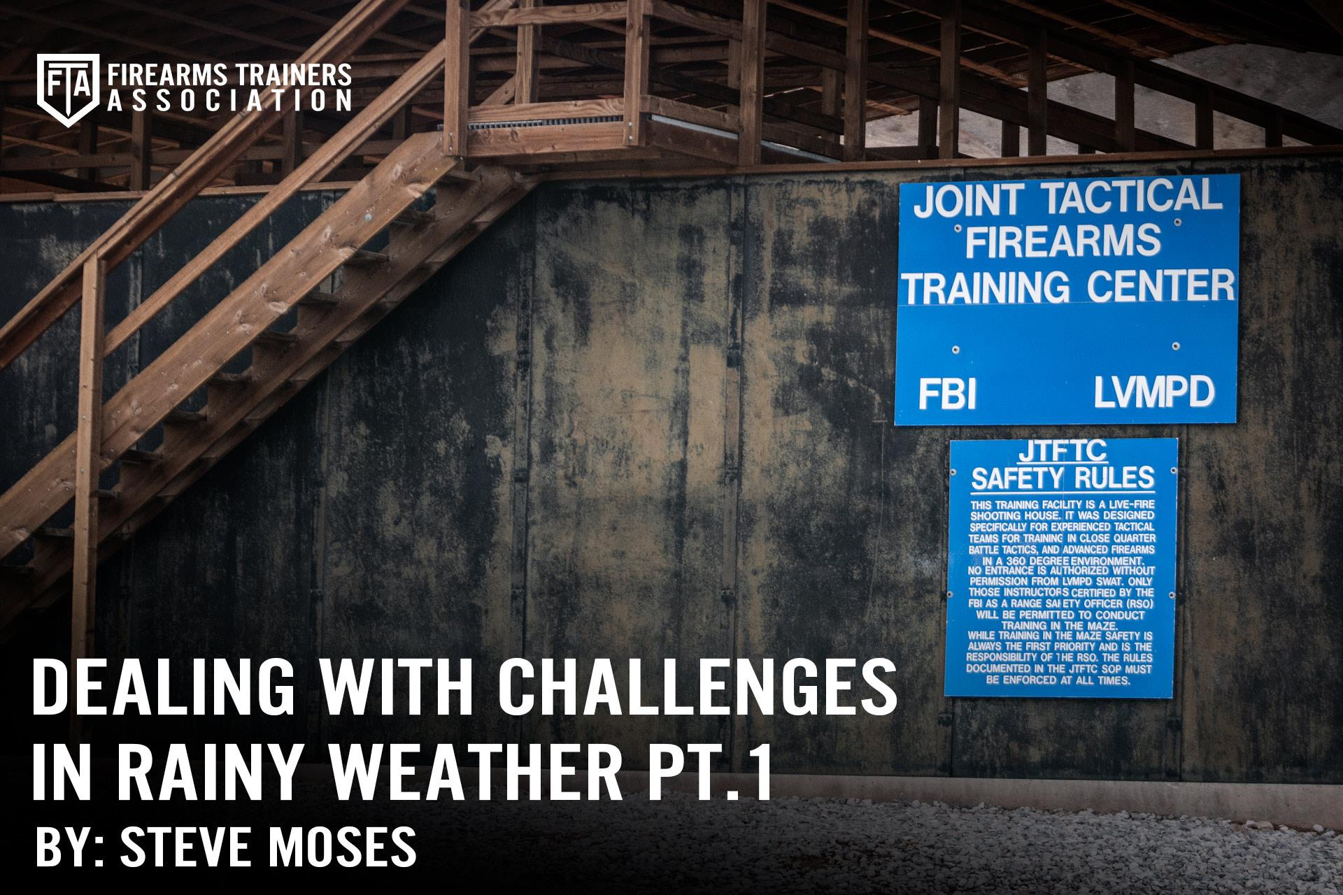 Dealing with Challenges in Rainy Weather Part One