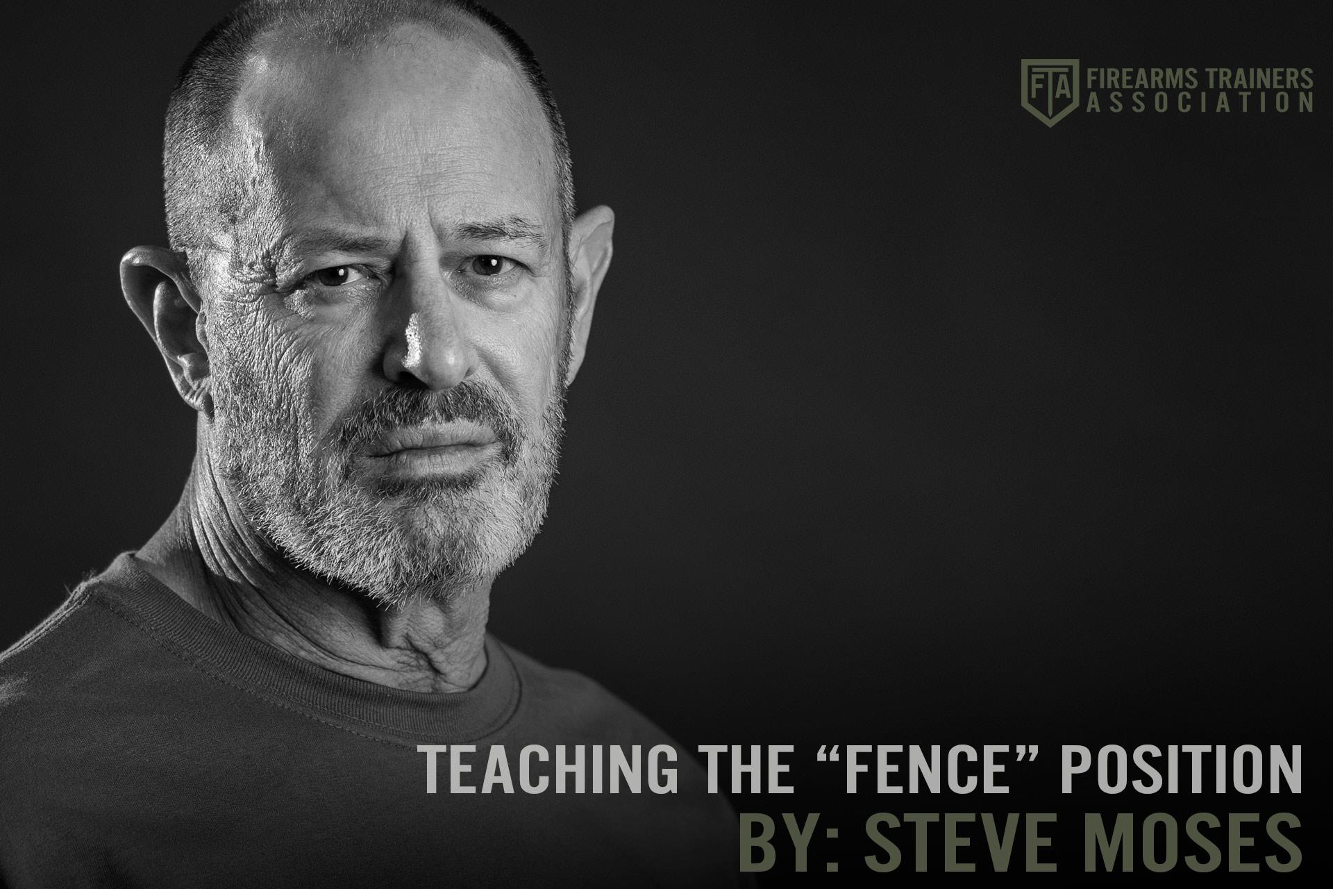 """TEACHING THE """"FENCE"""" POSITION"""