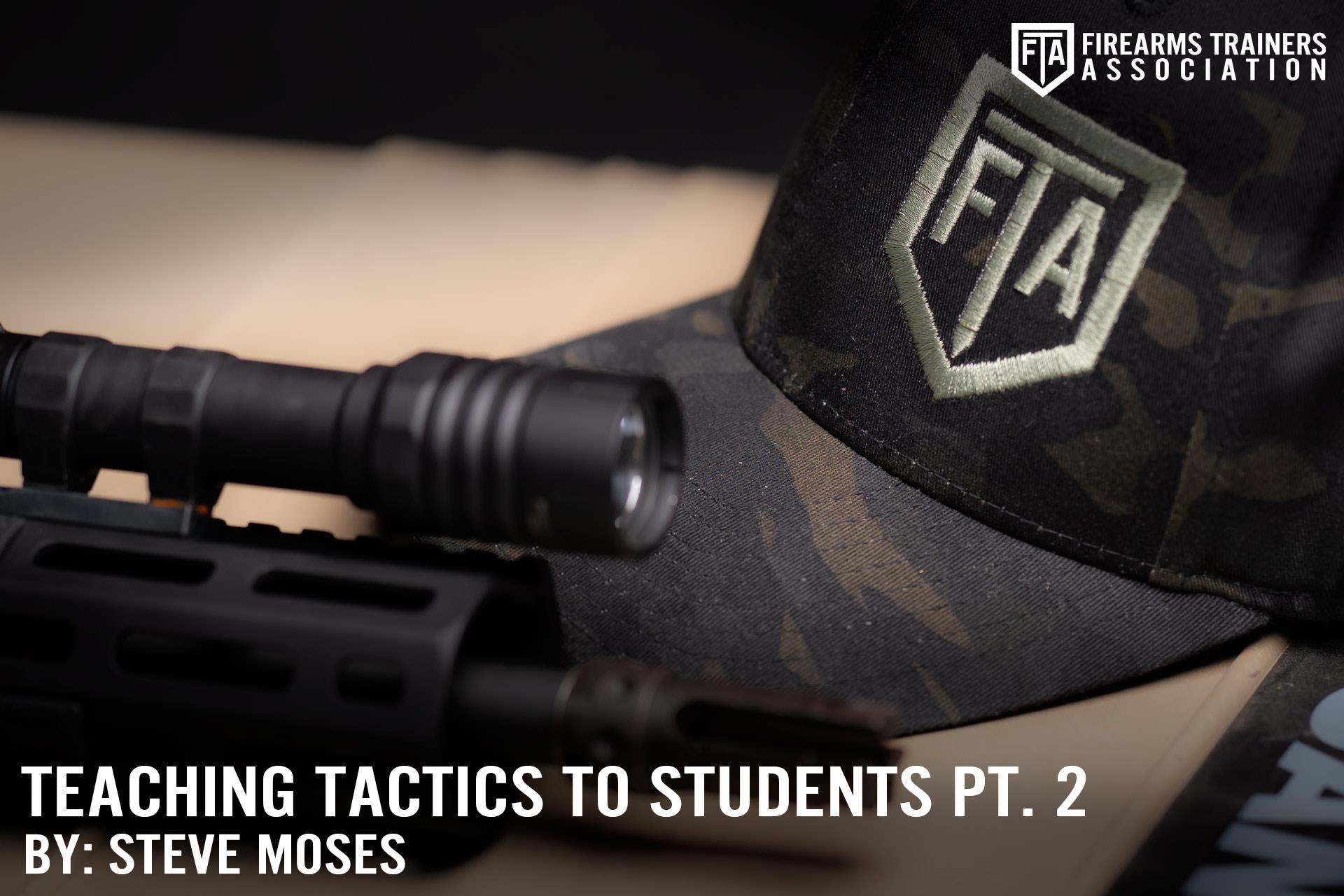 TEACHING TACTICS TO STUDENTS PT. 2