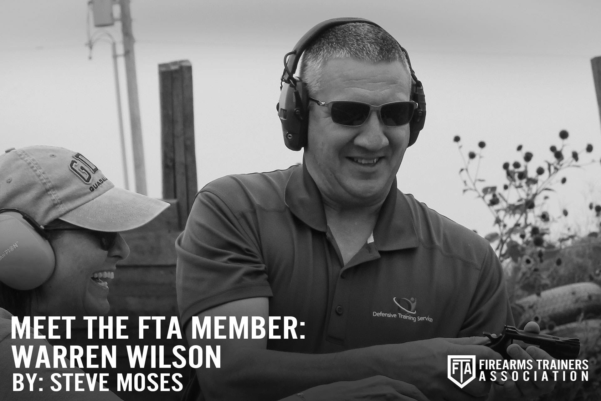 MEET THE FTA MEMBER SERIES: WARREN WILSON