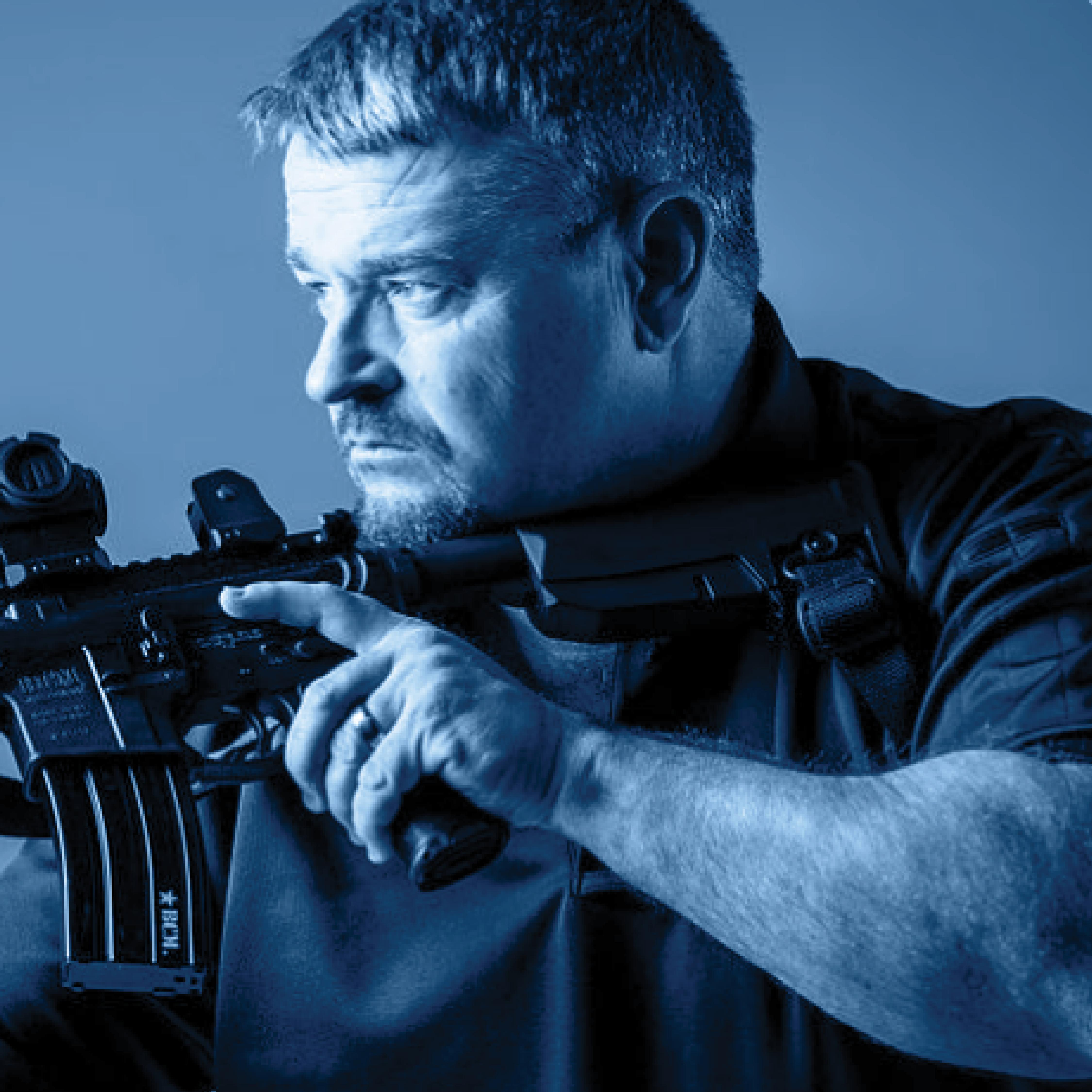 Larry Vickers Carbine Setup