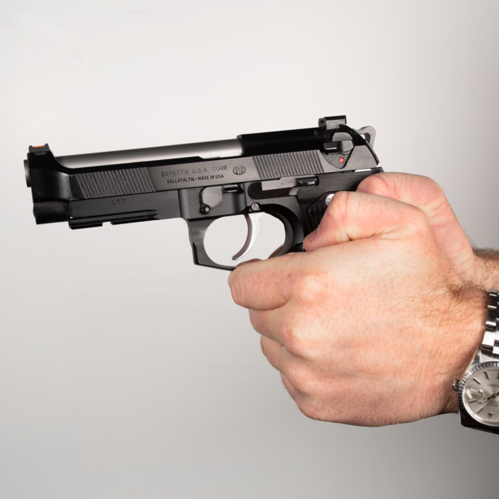 Teaching Proper Handgun Grip To New Students (Part Four)