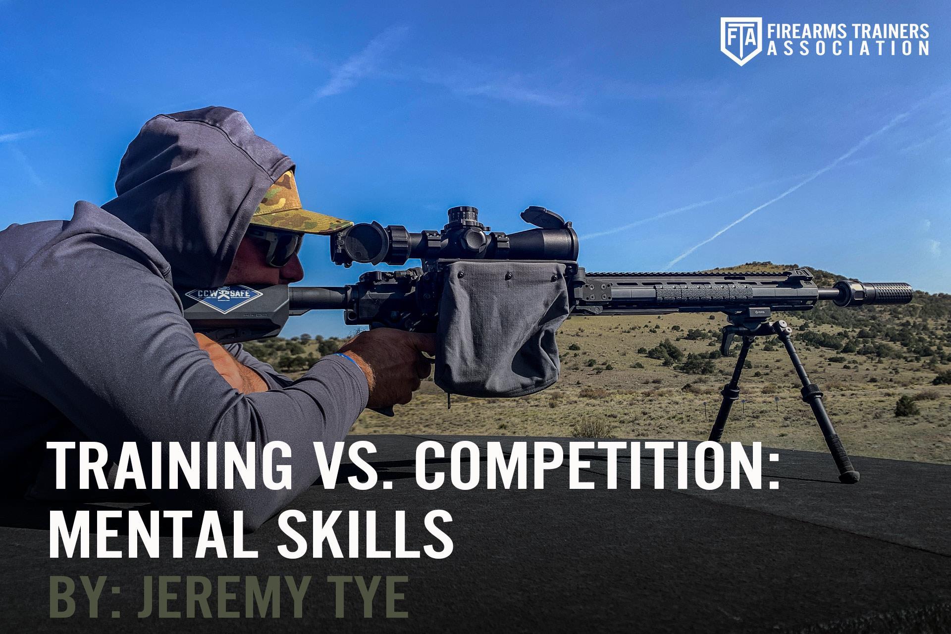 Training Vs. Competition: Mental Skills