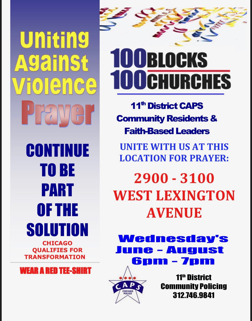 100 Blocks, 100 Churches (11th District)