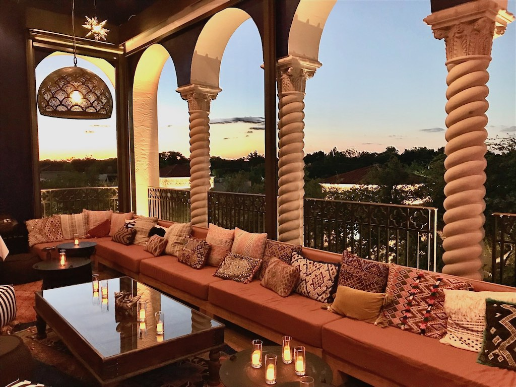 The Moroccan Balcony