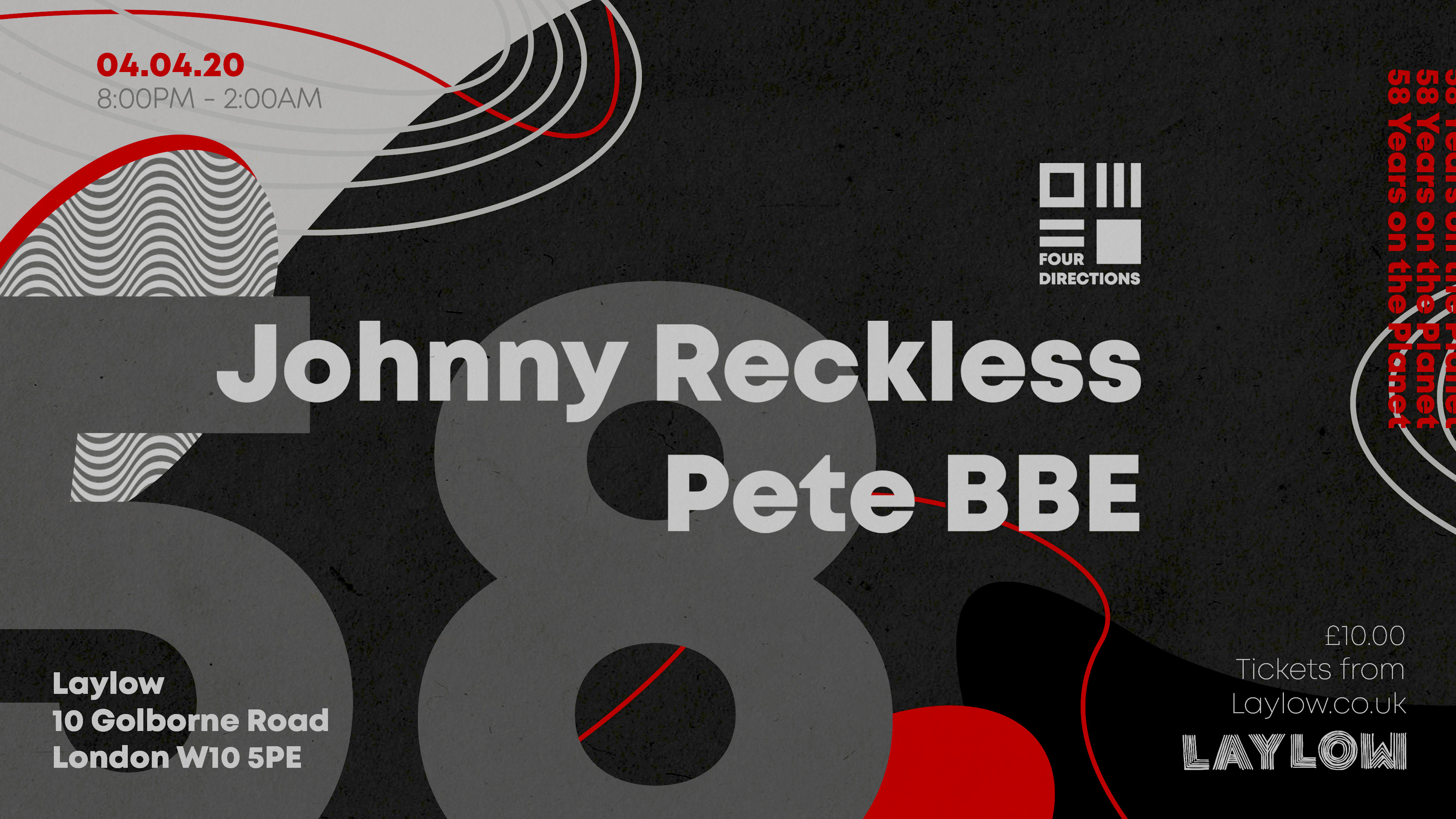 Johnny Reckless & Pete BBE