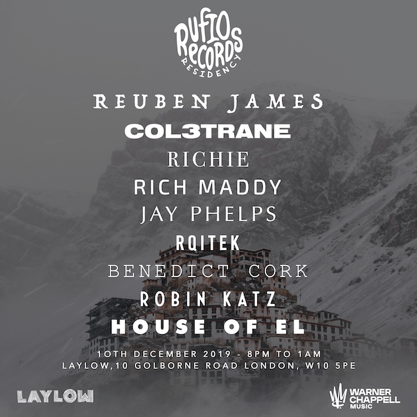 Rufio Records Presents: Reuben James + Friends