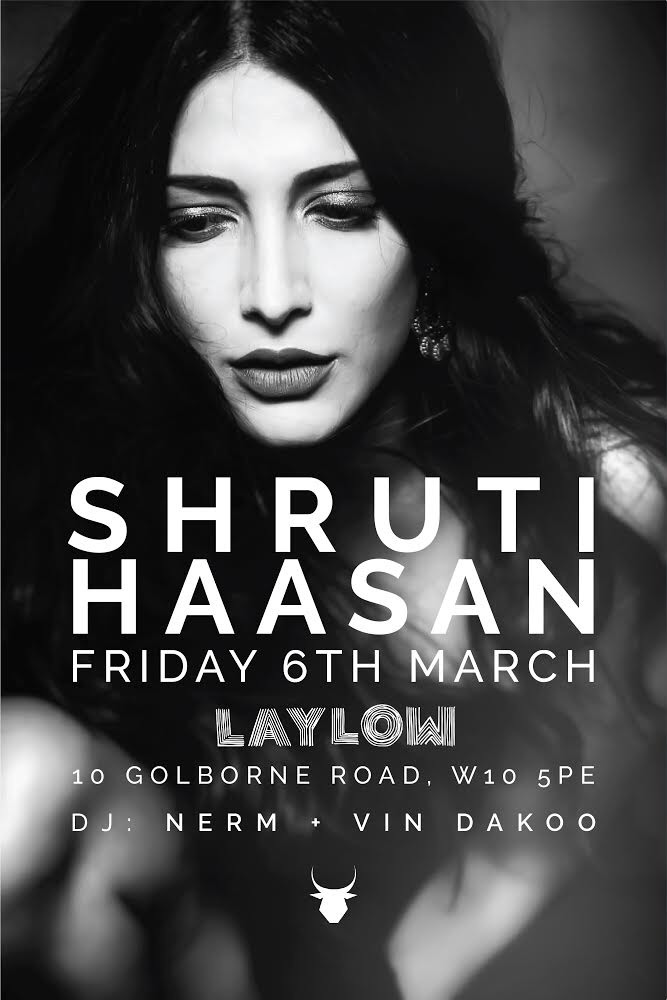 Laylow Presents: Shruti Haasan