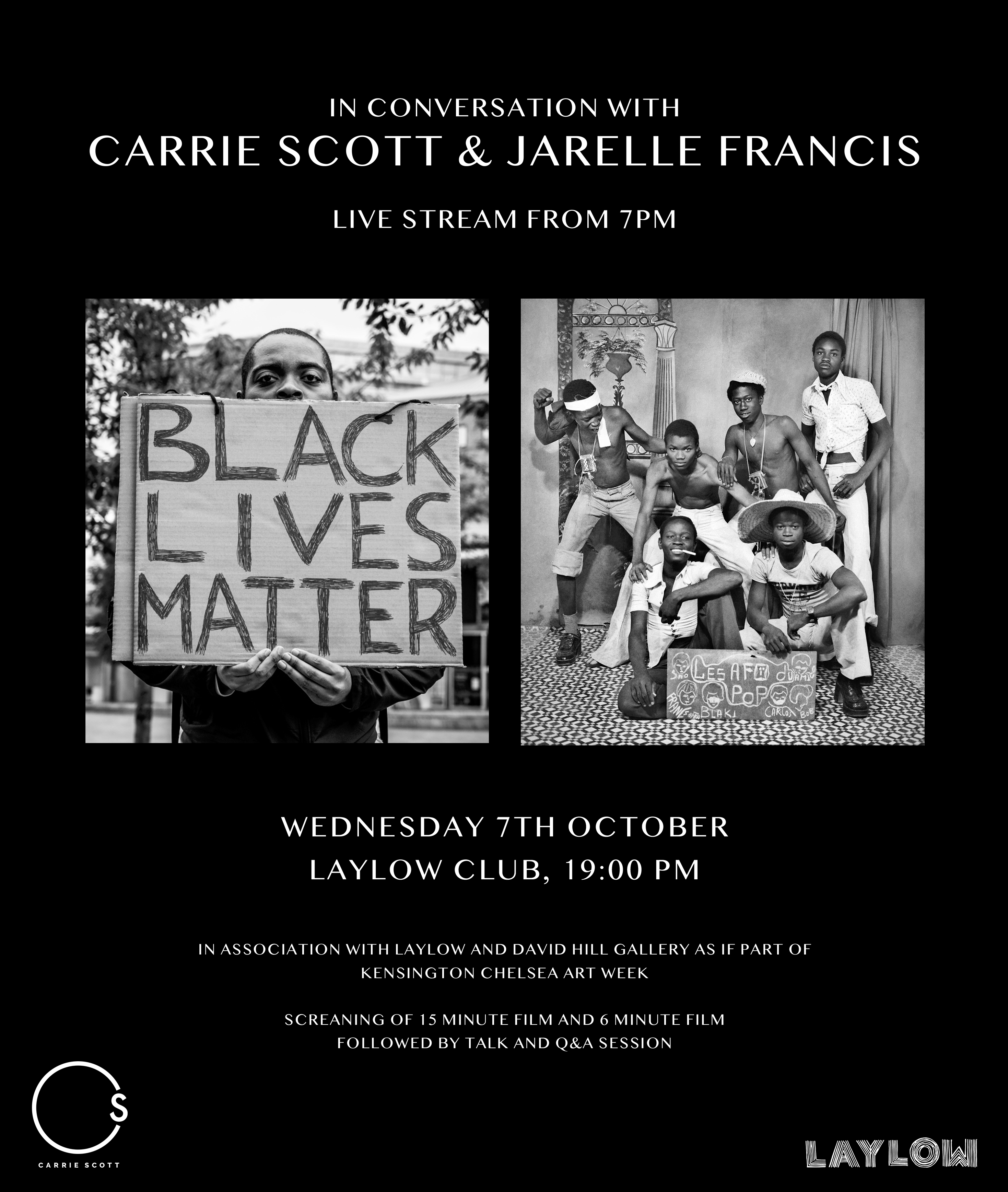 In Coversation With: Carrie Scott & Jarelle Francis