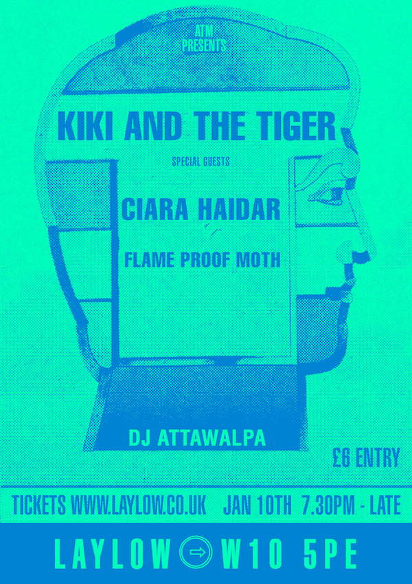 ATM Presents Kiki and the Tiger