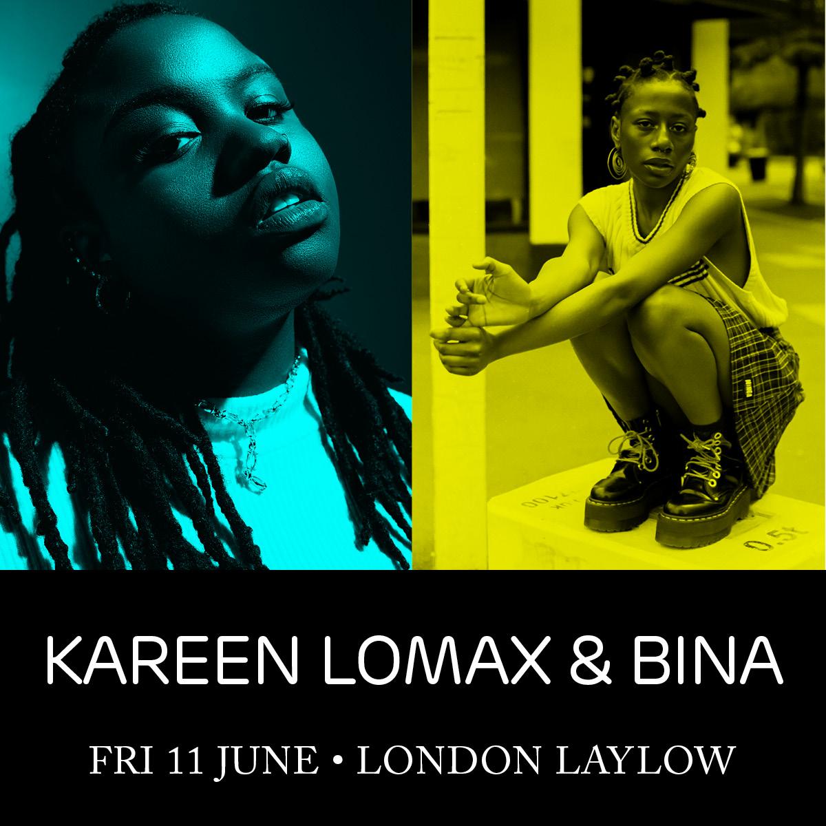 Kareen Lomax + BINA.