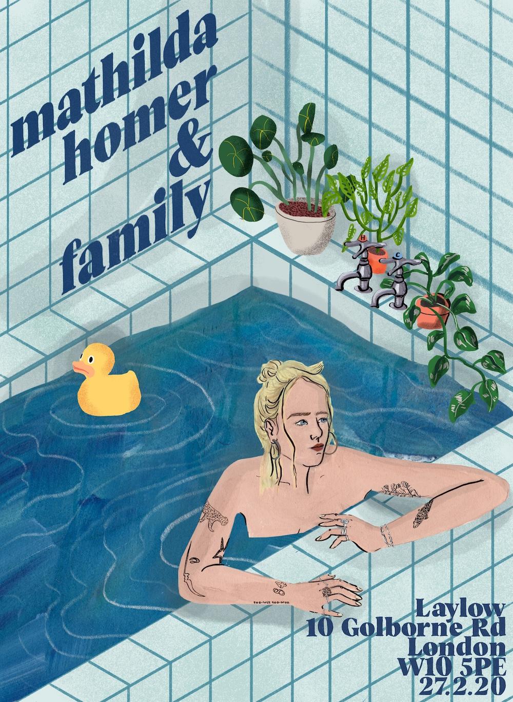 Mathilda Homer & Family