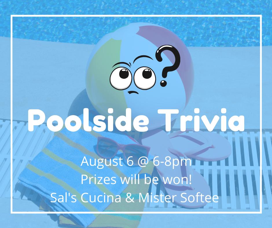 Poolside Trivia