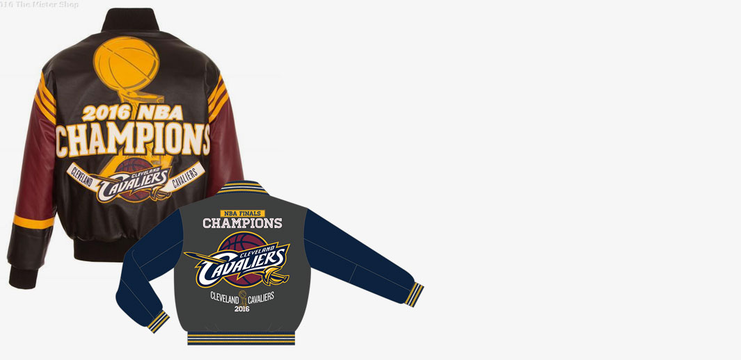 Cleveland Cavaliers Championship Jackets at The Mister Shop