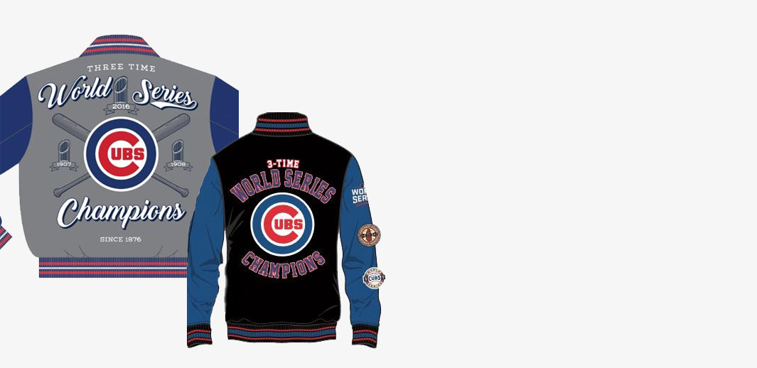 Chicago Cubs World Series Jackets at The Mister Shop
