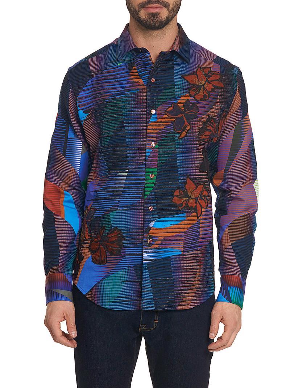 Robert Graham Limited Edition Canyon Flower Sport Shirt Multi stock
