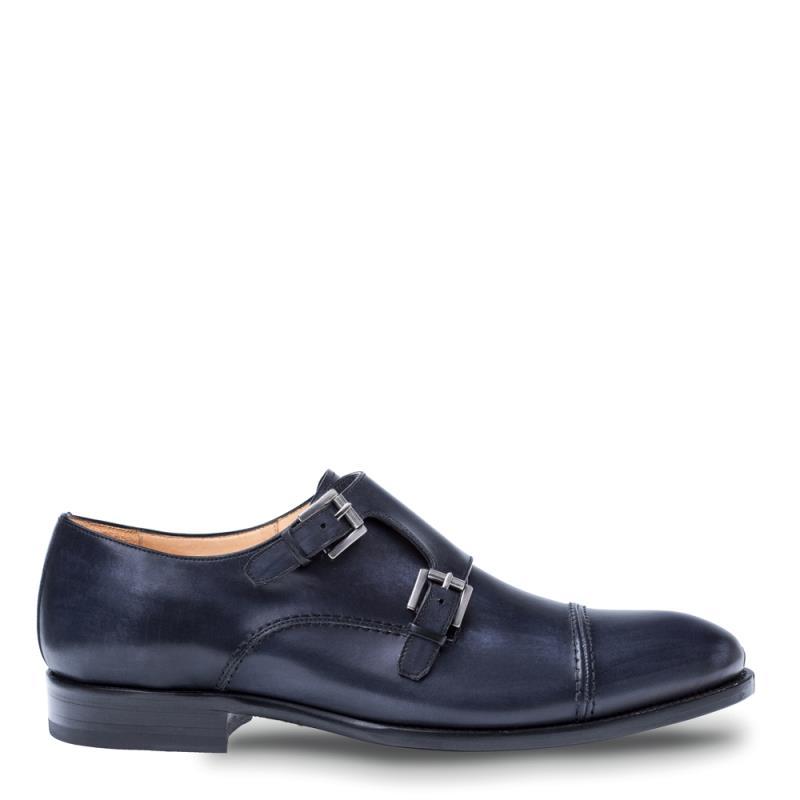 Mezlan Acosta Calfskin Double Monk Strap Shoe 8444