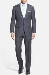 Bruno Sartore 2 Button Suit with Pleated Jesse Pant (Zanella fit/fabric)