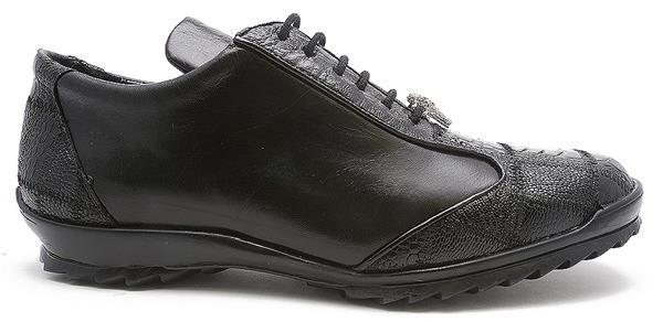 Los Altos Ostrich Lace Up Shoes