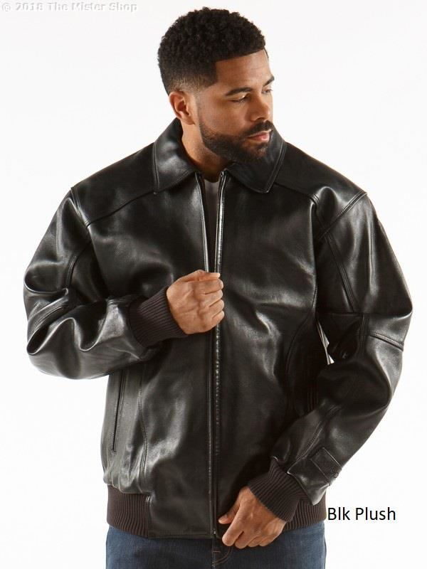 Pelle Pelle Fall 2019 Men's Basic Leather Jacket 21620
