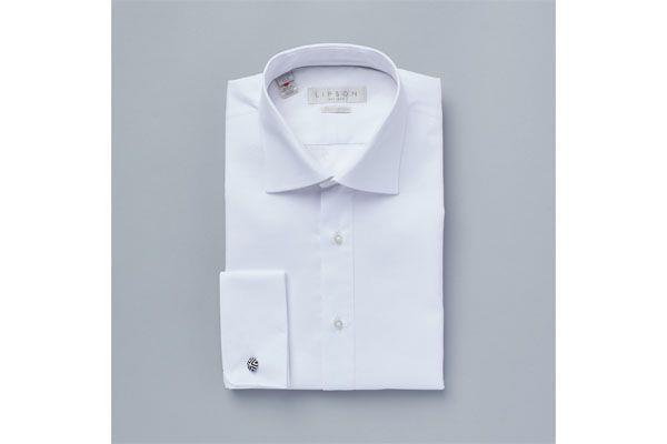 Lipson Classic Fit Dress Shirt White 78021049 Z693