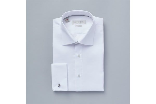 Lipson Classic Fit Dress Shirt White 78021049 Z693