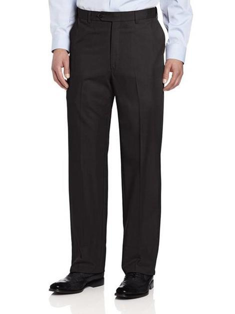 Ascott Browne Wool Blend Flat Front Slack 405 BIGS