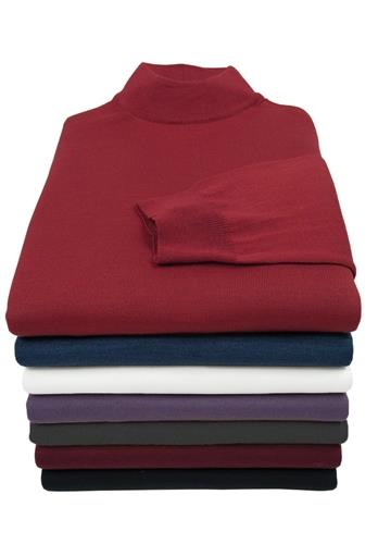 Marcello Extra Fine Merino Mock Sweater M10