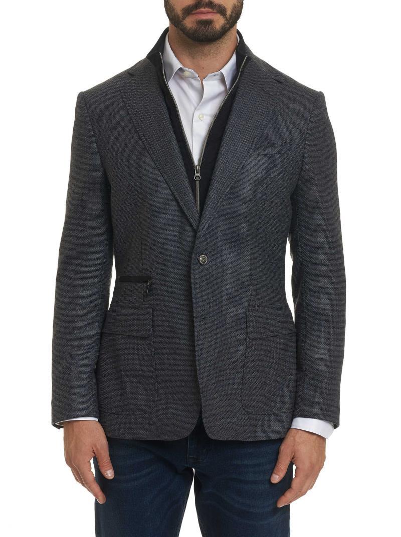 Robert Graham Downhill Wool Tailored Fit Sport Coat