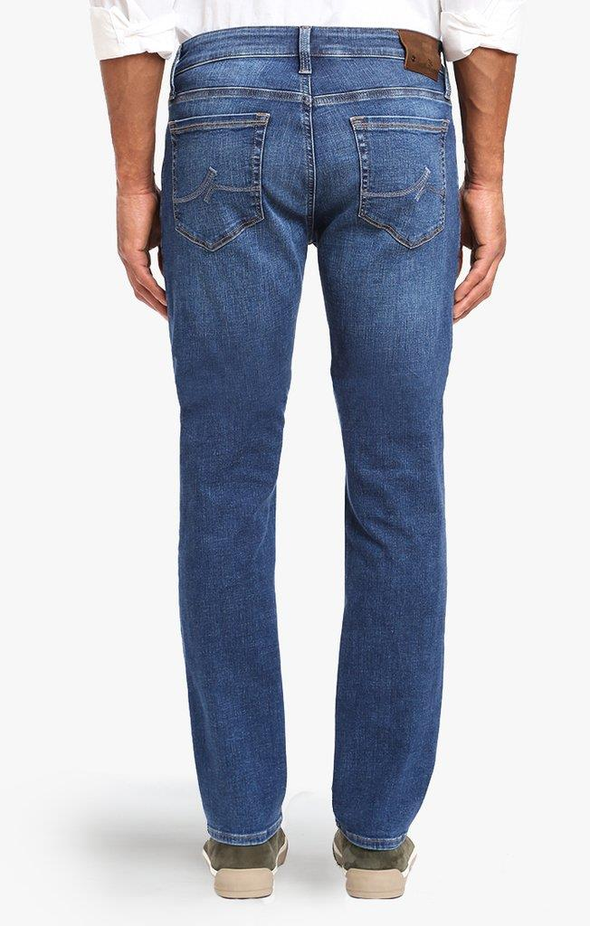 34 Heritage Tapered Cool Mid Indigo Cashmere Jean