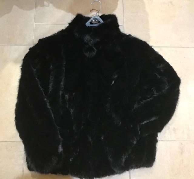 Gliagias Furs Women's Ranch Dyed Mink Section Jacket