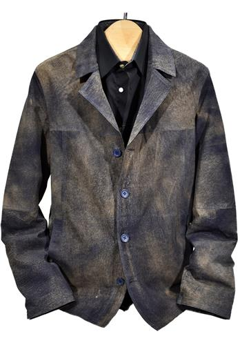 Marcello Light Weight Leather Shirt J388