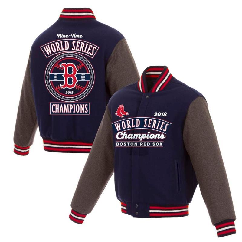 JH Design 2018 World Series Boston Reversible Champions Jacket