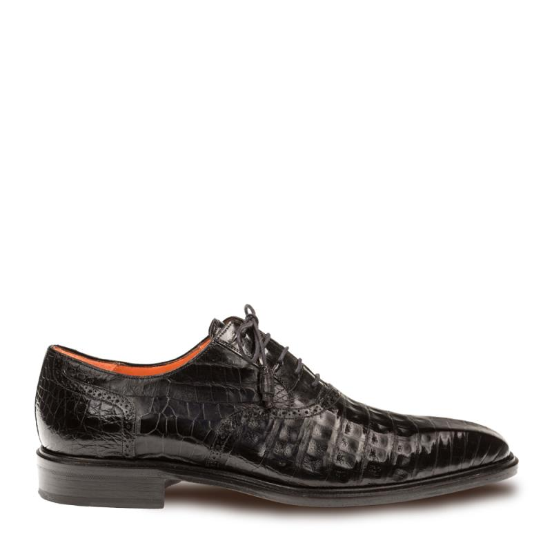 Mezlan Lupo Crocodile Lace Up Shoe 14498-F